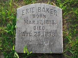 Erie Asa Baker