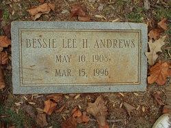 Bessie Lee <i>House</i> Andrews