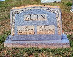 Ollie Lou <i>Ware</i> Allen