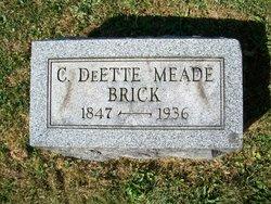C. DeEtte <i>Meade</i> Brick
