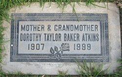 Dorothy Miriam <i>Taylor</i> Atkins