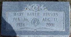 Mary Elizabeth <i>Isgett</i> Baker