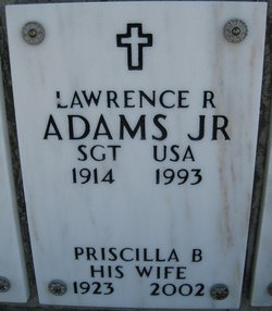 Priscilla B Adams