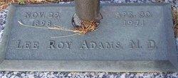 Dr Lee Roy Adams
