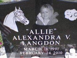 Alexandra V Allie Langdon