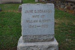 Jane C <i>Schenck</i> Birst