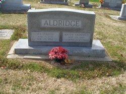Mattie Belle <i>Stanfield</i> Aldridge