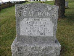 Cynthia Ellsworth <i>Allen</i> Baldwin