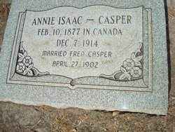 Annie <i>Isaac</i> Casper