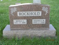 Merle Lavern <i>Logan</i> Rockhold