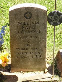 William Earl Leckrone