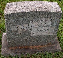 Sara E <i>Weider</i> Souders