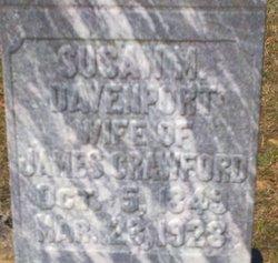 Susan M. <i>Davenport</i> Crawford