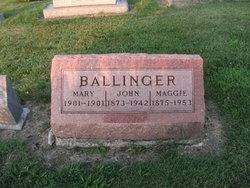 Margaret Virginia Maggie <i>Wagner</i> Ballinger