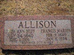 Julia Ann <i>Huff</i> Allison