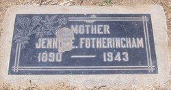 Jennie Evelyn Eliza <i>Smith</i> Fotheringham