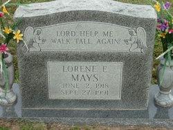 Lorene Elizabeth <i>Mays</i> Williams