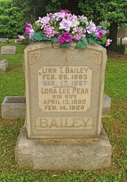 Lora Lee <i>Peak</i> Bailey