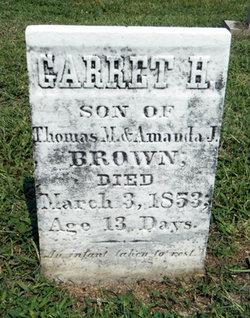Garret H Brown