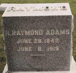 Harvey Raymond Adams