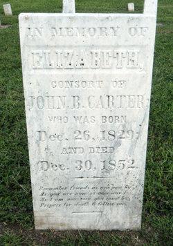Elizabeth <i>Mounts</i> Carter