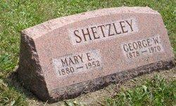 Mary Etta <i>Sills</i> Shetzley