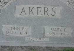 Mary Ellen <i>Burnett</i> Akers
