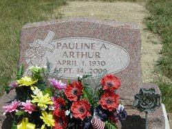 Pauline A. <i>Wingate</i> Arthur