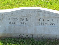 Thurston T Watts