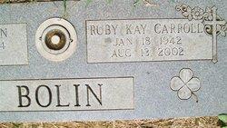 Ruby Kay <i>Carroll</i> Bolin