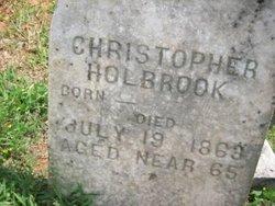 Christopher Holbrook