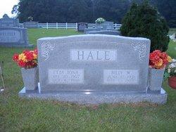 Etta Iona <i>Nixon</i> Hale