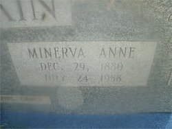 Minerva Anne Annie <i>Morgan</i> Rankin