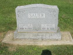 Virgie Irene <i>Robbins</i> Sauer