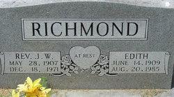 Edith c <i>Shumate</i> Richmond