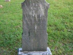Elvira E. <i>Church</i> Reavis