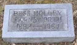 Bess <i>Holley</i> Farnsworth