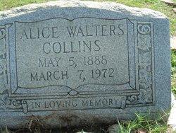 Alice Mae <i>Walters</i> Collins
