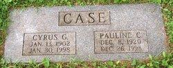 Pauline C <i>Houston</i> Case
