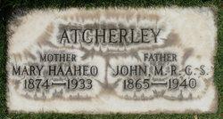 Mary Haaheo <i>Kinimaka</i> Atcherley