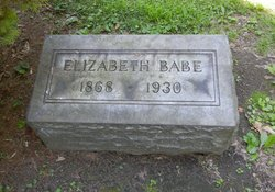 Elizabeth <i>Frame</i> Babe