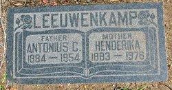 Antonius Cornelis Leeuwenkamp