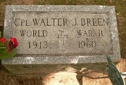 Corp Walter J. Breen