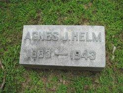 Agnes <i>Jones</i> Helm