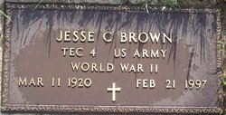Jesse C Brown