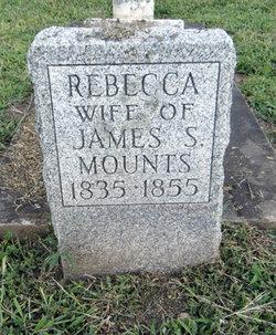 Rebecca <i>Reed</i> Mounts