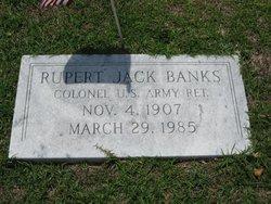 Col Rupert Jack Banks