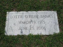 Lottie <i>O'Rear</i> Banks