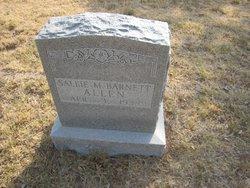 Sarah Melvina Sallie <i>Barnett</i> Allen