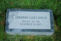 Barbara <i>Gibbs</i> Baker